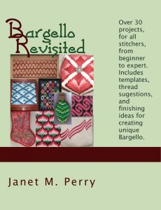Bargello Revisited cover, copyright Napa Needlepoint